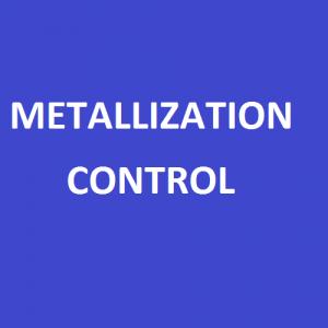 Metallization Control